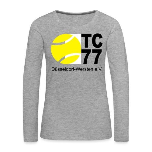 TC 77 Logo - Frauen Premium Langarmshirt