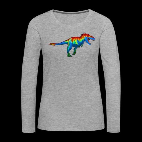 T-Rex - Women's Premium Longsleeve Shirt