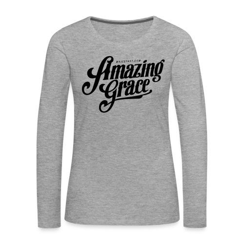 Amazing grace Scraz - T-shirt manches longues Premium Femme