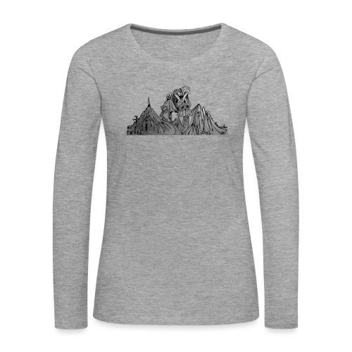 The Watcher Awakes - Women's Premium Longsleeve Shirt