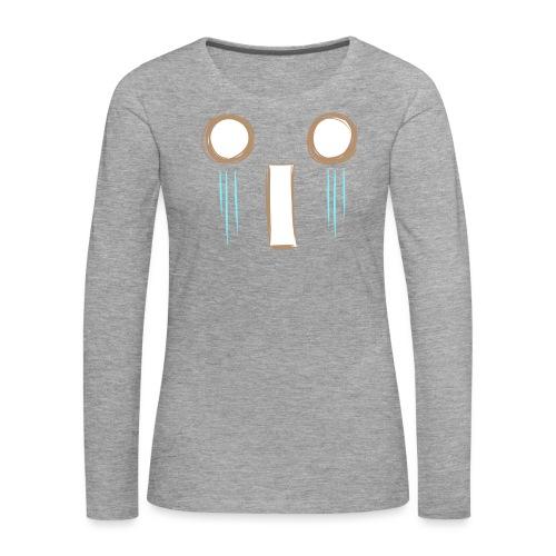 Kawaii_WhattheF_EnChantal - Women's Premium Longsleeve Shirt