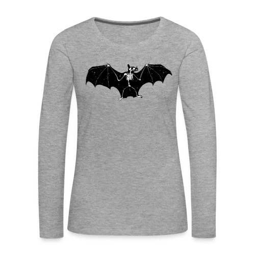 Bat skeleton #1 - Women's Premium Longsleeve Shirt