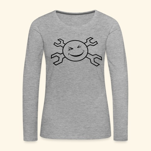 logo_atp_black - Women's Premium Longsleeve Shirt