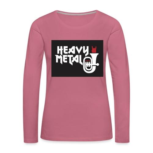 HeavyMetal MV Darscheid - Frauen Premium Langarmshirt