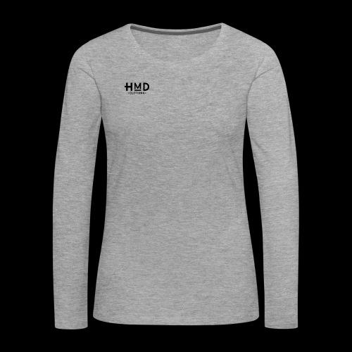 Hmd original logo - Vrouwen Premium shirt met lange mouwen