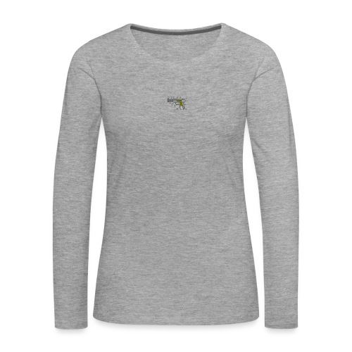 rickard - Långärmad premium-T-shirt dam