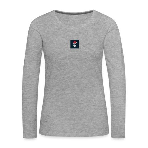 Trap Navideño - Camiseta de manga larga premium mujer