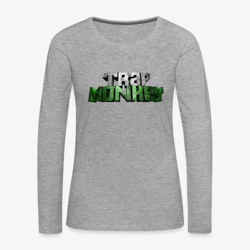 Trap Monkey 2 - T-shirt manches longues Premium Femme