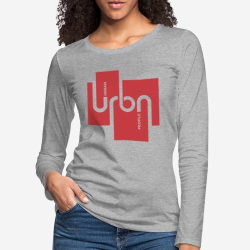 Stadtmenschen Stadt - Frauen Premium Langarmshirt