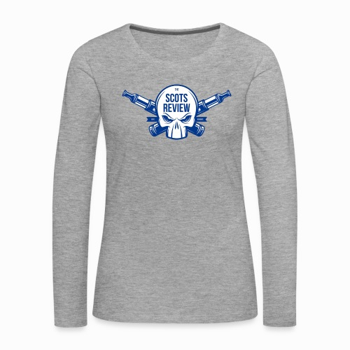 The Scots Review Classic Logo - Women's Premium Longsleeve Shirt