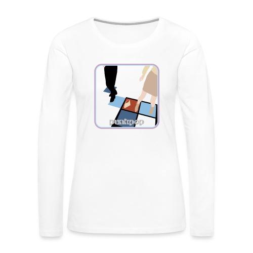 Pulp Disco PunkPop - Maglietta Premium a manica lunga da donna