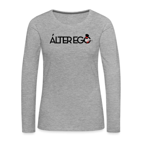ÁLTER EGO - Camiseta de manga larga premium mujer