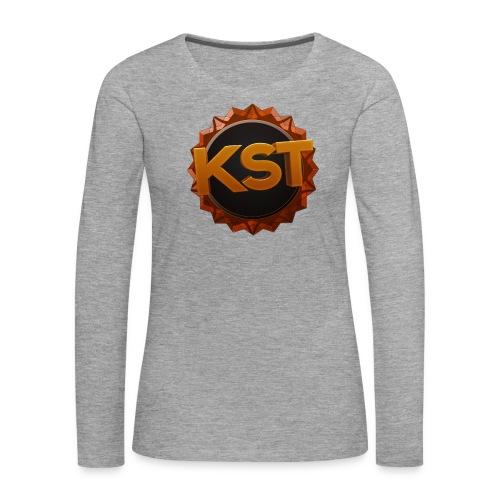 KsT Shirt 2 png - Frauen Premium Langarmshirt