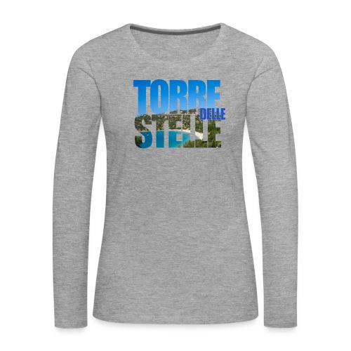 TorreTshirt - Maglietta Premium a manica lunga da donna