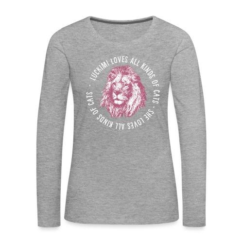 All kinds of cats - Women's Premium Longsleeve Shirt