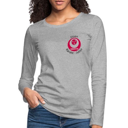 Jissen Karate Jutsu - Dame premium T-shirt med lange ærmer