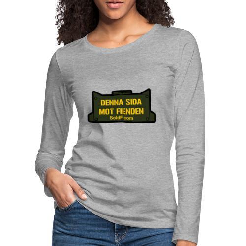 DENNA SIDA MOT FIENDEN - Mina - Långärmad premium-T-shirt dam