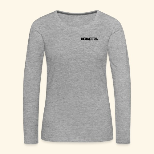 BenalRida HD black png - Camiseta de manga larga premium mujer