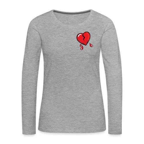 Broken Heart - Women's Premium Longsleeve Shirt