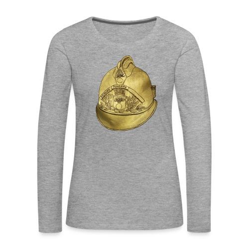 Casque pompier - T-shirt manches longues Premium Femme