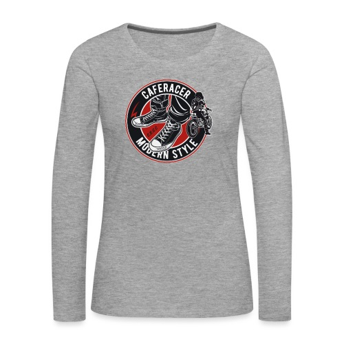 modern style - Women's Premium Longsleeve Shirt