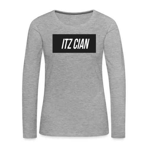 ITZ CIAN RECTANGLE - Women's Premium Longsleeve Shirt