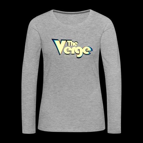 The Verge Vin - T-shirt manches longues Premium Femme