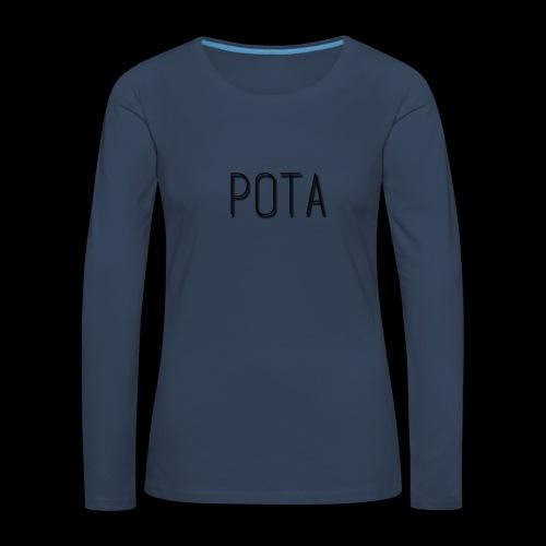 pota2 - Maglietta Premium a manica lunga da donna