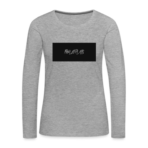 Finley plays merch - Women's Premium Longsleeve Shirt