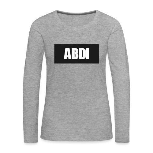 Abdi - Women's Premium Longsleeve Shirt