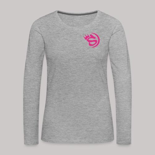 S pink - Frauen Premium Langarmshirt