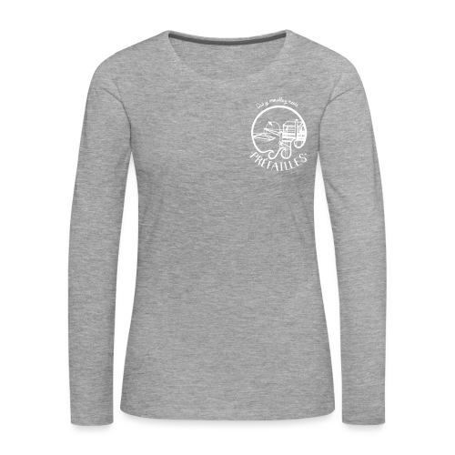 Les pêcheries de Prefailles - T-shirt manches longues Premium Femme