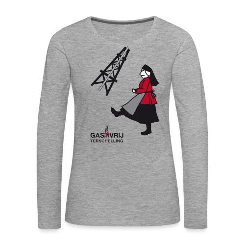 lobke - Vrouwen Premium shirt met lange mouwen