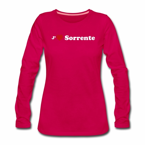 J'aime Sorrente - T-shirt manches longues Premium Femme