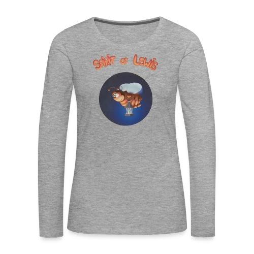 Spirit of Lewis - T-shirt manches longues Premium Femme