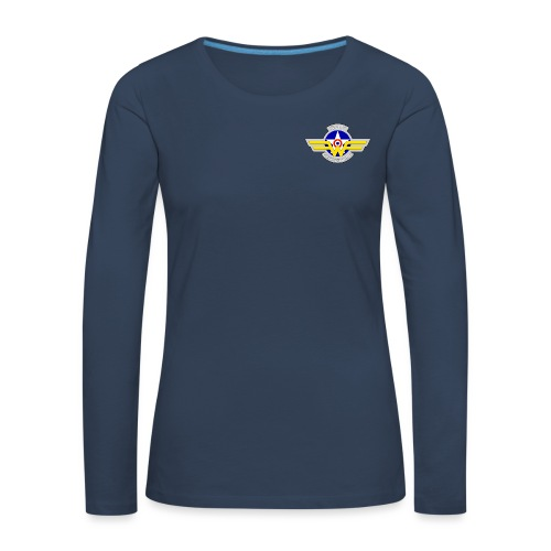 Logo French Wing - T-shirt manches longues Premium Femme
