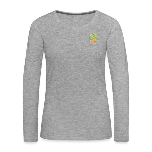 Spring - Blumenwiese im Frühling - Frauen Premium Langarmshirt