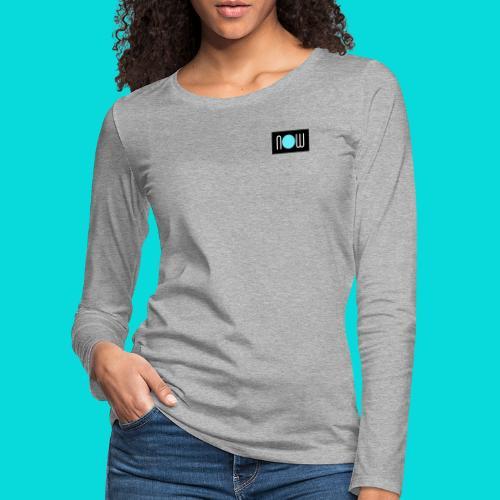now - Frauen Premium Langarmshirt