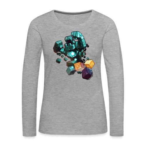BDcraft Golem - Women's Premium Longsleeve Shirt