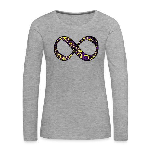 ANCORAGGIO DI MANDALA - Maglietta Premium a manica lunga da donna