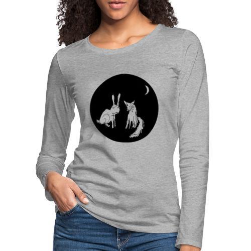 fuxundhase 02 - Frauen Premium Langarmshirt