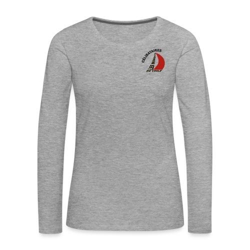 Célibataires Les Mordus de voile - T-shirt manches longues Premium Femme