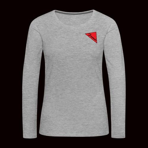 Framan - Maglietta Premium a manica lunga da donna