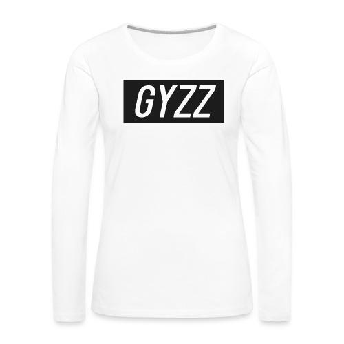 Gyzz - Dame premium T-shirt med lange ærmer