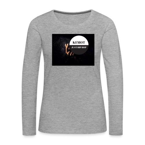 KeMoT odzież limitowana edycja - Koszulka damska Premium z długim rękawem