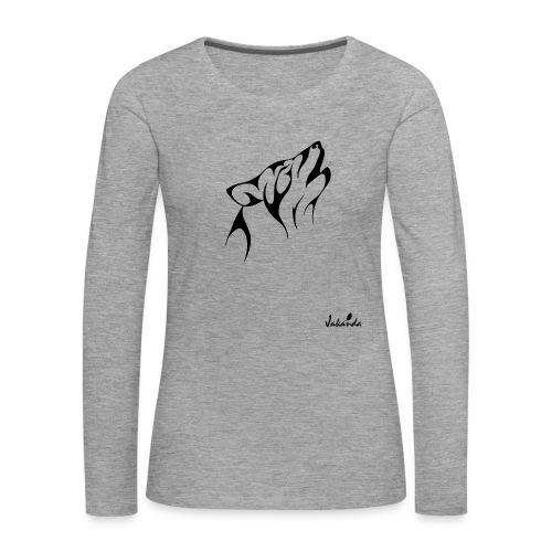 logo jakanda ii - Frauen Premium Langarmshirt