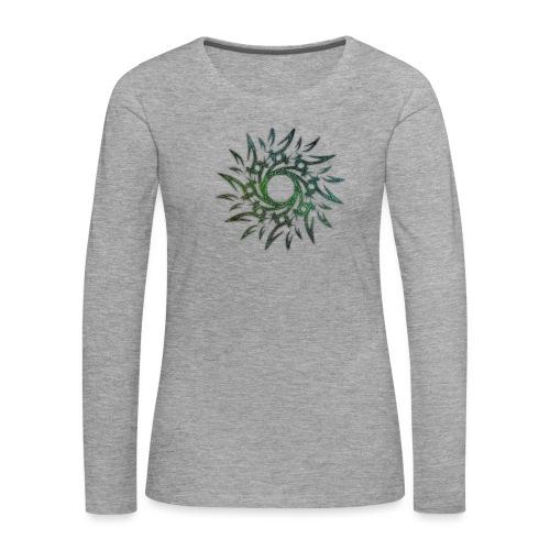 Tribale - Maglietta Premium a manica lunga da donna
