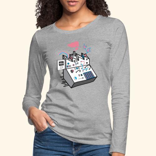 Noise Factory - Naisten premium pitkähihainen t-paita