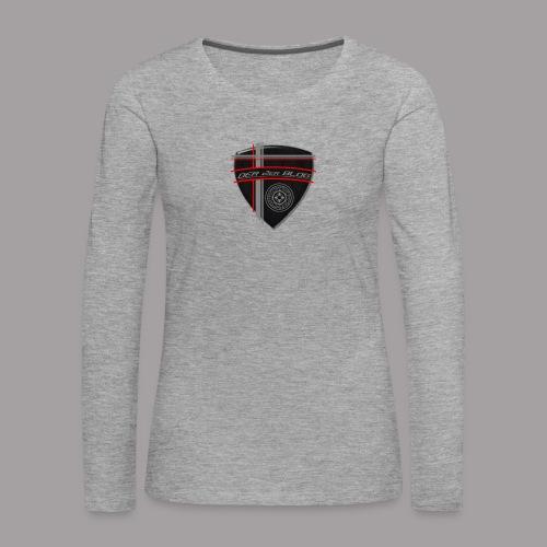 2erblogLogo blank png - Frauen Premium Langarmshirt