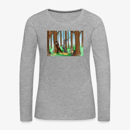 BEERTJEEE - Vrouwen Premium shirt met lange mouwen
